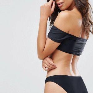 Boohoo Swim - ASOS/ Boohoo Off shoulder bikini top
